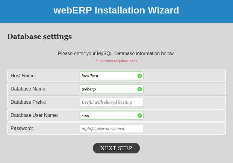 Phần mềm WebERP