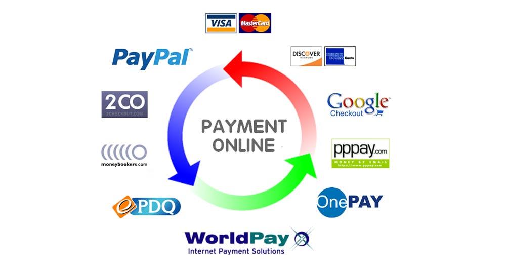 Thanh toán bằng các cổng thanh toán online qua website nhà hàng