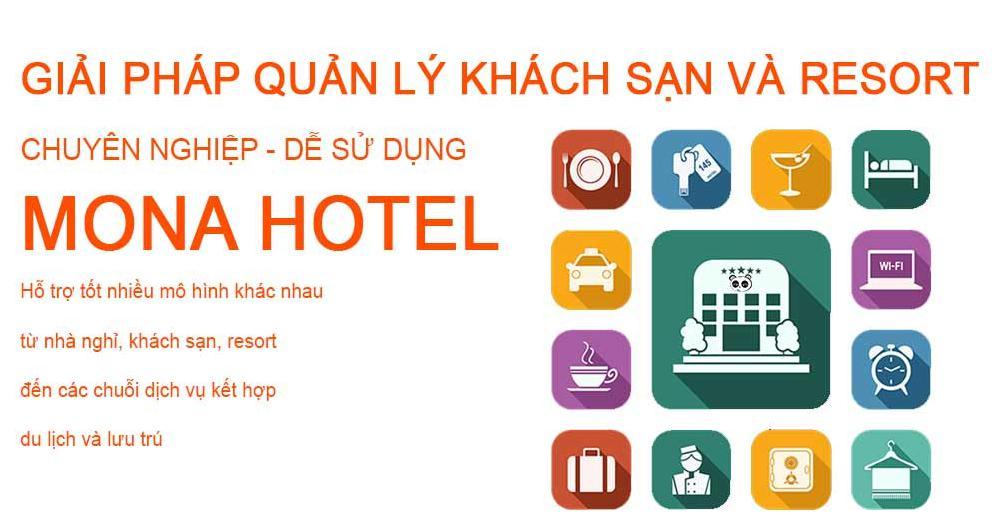 Phần mềm quản lý khách san - resort hàng đầu Mona Hotel