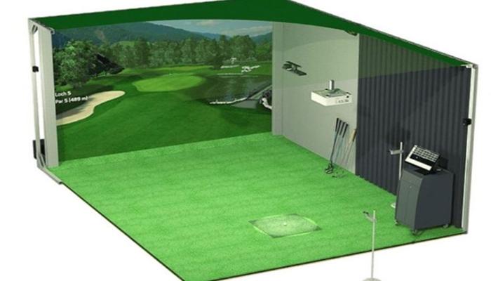 Những thiết bị cần có cho phòng tập golf 3D