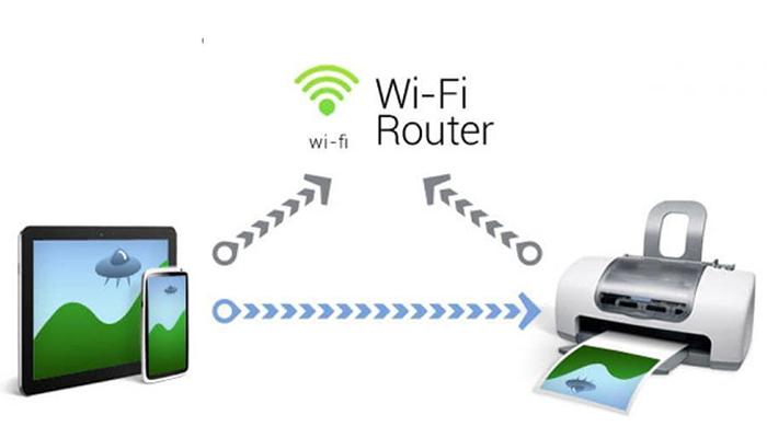 Hướng dẫn cách cài đặt máy in qua Wifi